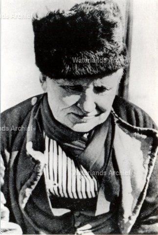 Klaas Tol (van Houten of Kakie), 26 jaar oud, visser, geboren op 28-01-1868 te Volendam, overleden op 23-11-1948 te Volendam. ca 1945 #NoordHolland #Volendam