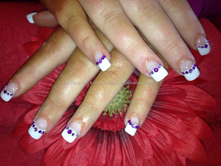 84 best French manicure nails with design images on Pinterest | Nail ...