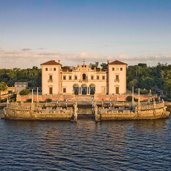Vizcaya Museum & Gardens  Miami, Florida pass by there all the time!!