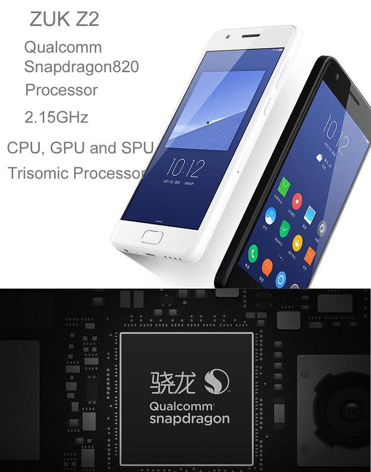 "Lenovo ZUK z2 Android 6.0 4G 5.0"" Phone w/ 4GB RAM, 64GB ROM - Black - Free Shipping - DealExtreme"
