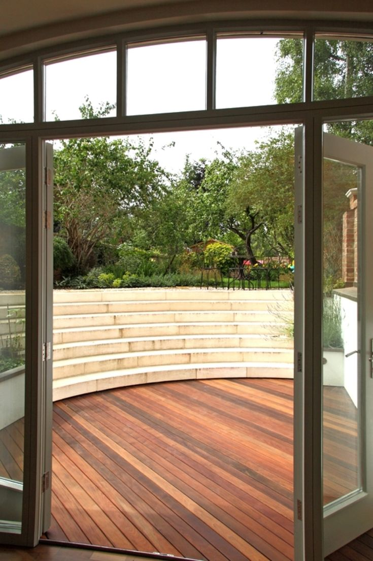 curved copper roof basement extension to oxford townhouse