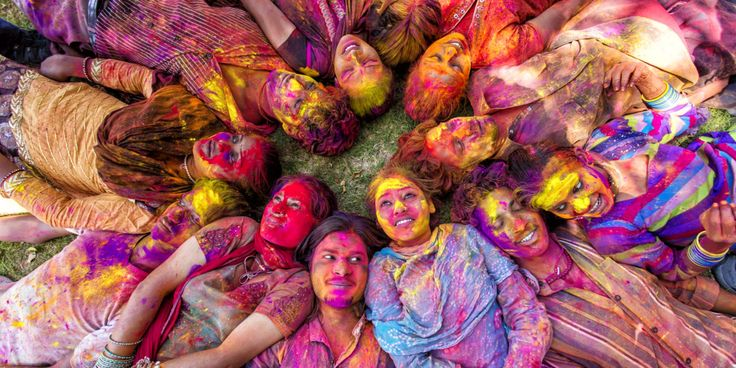 Holi is an annual Hindu traditional festival celebrated in the commemoration of the victory of the good god over the demons.