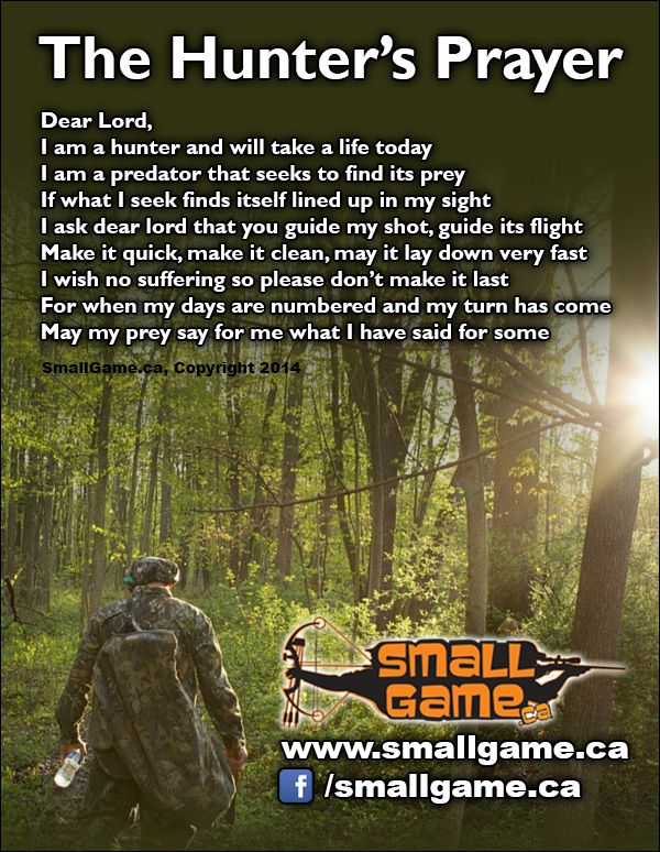 The hunter 39 s prayer pinterest hunters for How much is a fishing license in california