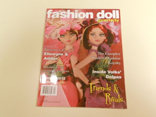 Fashion Doll Quarterly Winter 2012 - Friends & Rivals - Ellowyne and Amber
