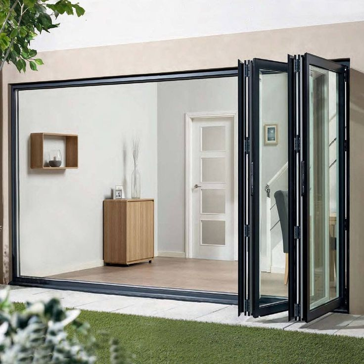AluVu Grey Aluminium 4 Door Set - Opens left or Right - Prefinished & Best 25+ Aluminium doors prices ideas on Pinterest | Aluminium ... Pezcame.Com