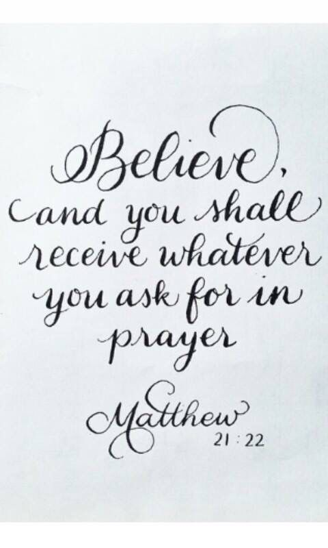 Superb Matthew 21:22 · Godly QuotesFaith QuotesBible Verses ...