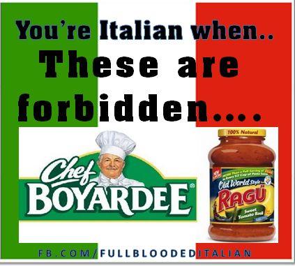 FORBIDDED!  #ItalianProblems!