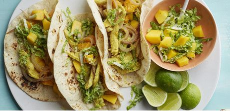 These sweet and spicy wraps make a light dinner or afterschool snack.