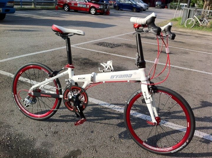 Oyama RX - Manillar triatlon