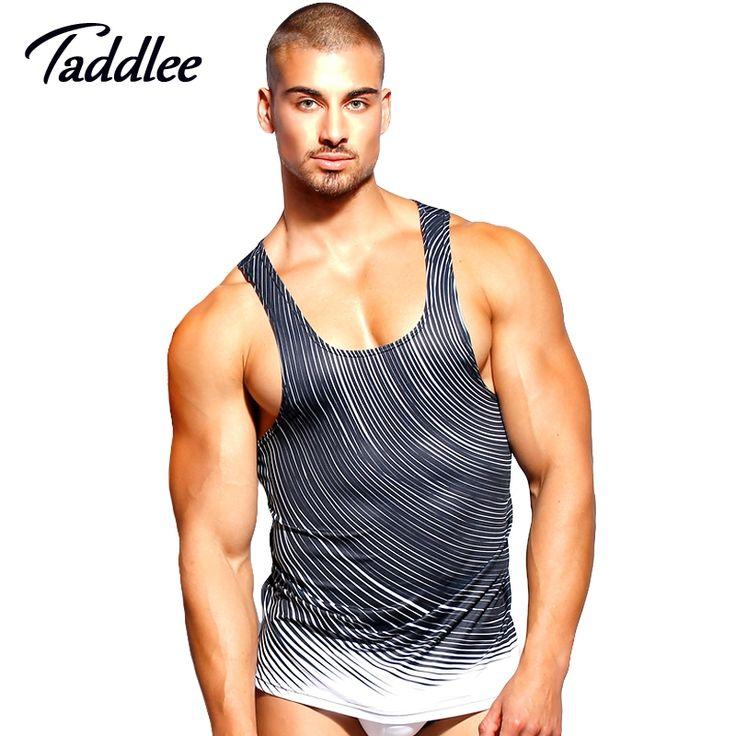 Taddlee Brand Men Tank Top Tee Shirts Sleeveless polyester Undershirts  Sports Run T Shirts Outdoor Basketball