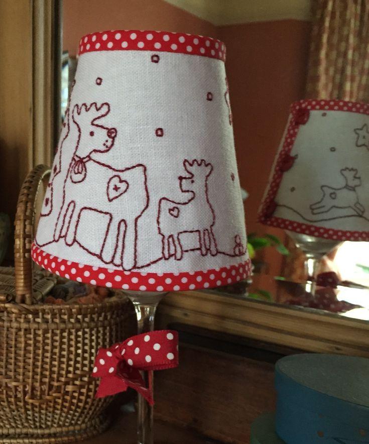 Christmas Wine Glass Lampshade Kit — Dandelion Designs