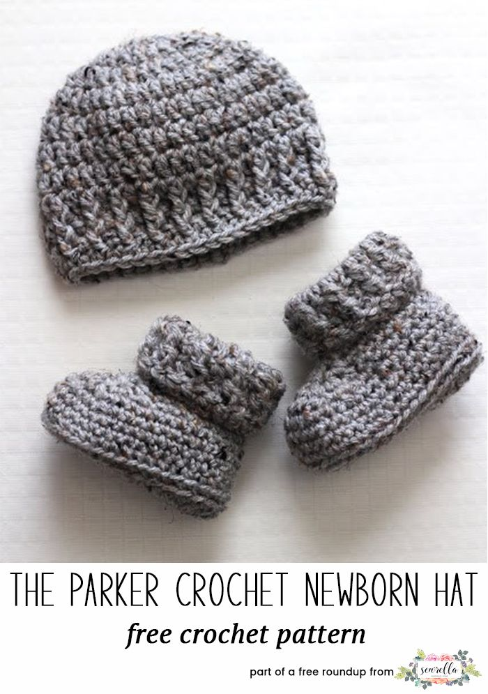 The Parker Crochet Baby Hat Blogger Crochet Patterns We Love