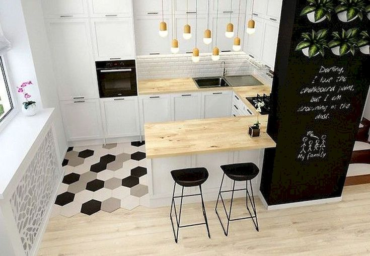 The Best of Little Apartment Kitchen Decor - Home of Pondo - Home Design