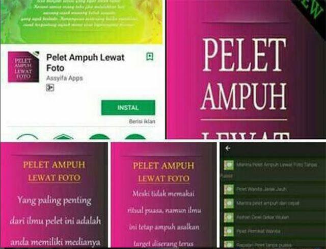 "Heboh Aplikasi ""Pelet Ampuh"" di Playstore Netizen Peringatkan Perempuan Yang Suka Pajang Foto di Media Sosial http://news.beritaislamterbaru.org/2017/06/heboh-aplikasi-pelet-ampuh-di-playstore.html"
