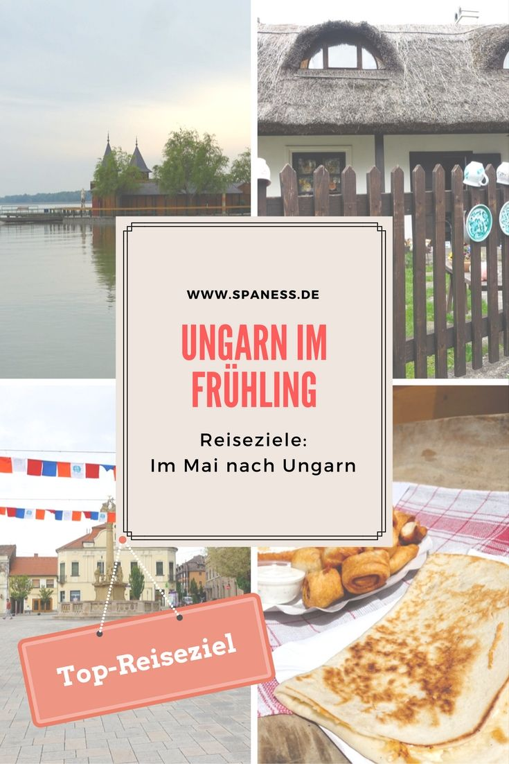Reiseziele Geschenkidee - m Mai nach Ungarn. Urlaub und Reise - Ziele, Tipps und Infos.