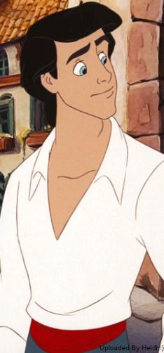 DAY 3: Favorite Prince~ Prince Eric from the Little Mermaid! Simply because he has dark hair and handsome blue eyes! He is romantic and strong and l love how he looks at Ariel. :)