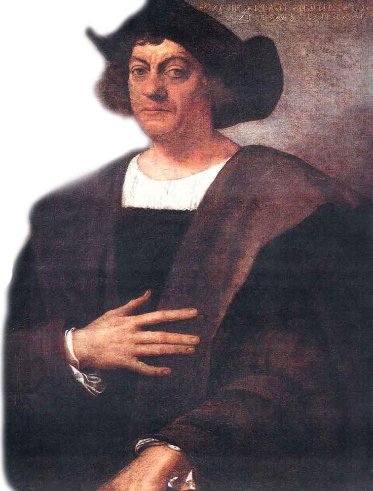 Christoffel Columbus,  is de beroemdste ontdekkingsreiziger uit het tijdperk van de grote ontdekkingen. Hij maakte naam door zijn 'ontdekking' van Amerika onder Spaanse vlag in 1492.  Geboren: 1451, Genua, Italië Overleden: 20 mei 1506, Valladolid, Spanje Begraven: Kathedraal van Sevilla, Sevilla, Spanje