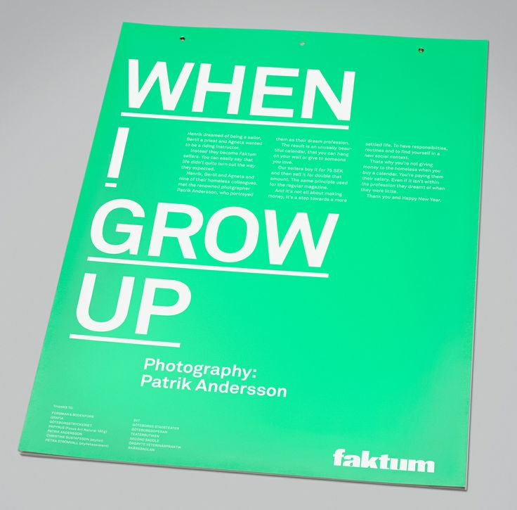 Bronze Award for When I grow up by Forsman & Bodenfors (2011)