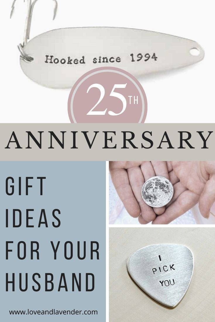 25th anniversary gift ideas for your husband25th