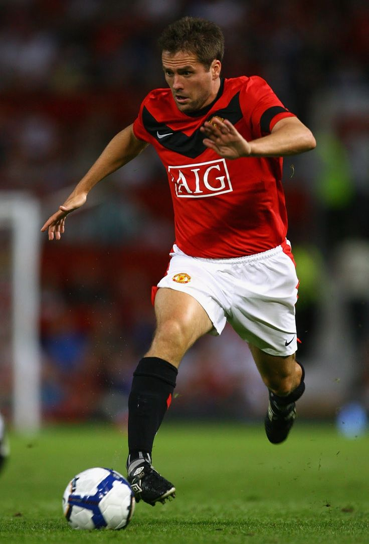 ~ Michael Owen of Manchester United ~