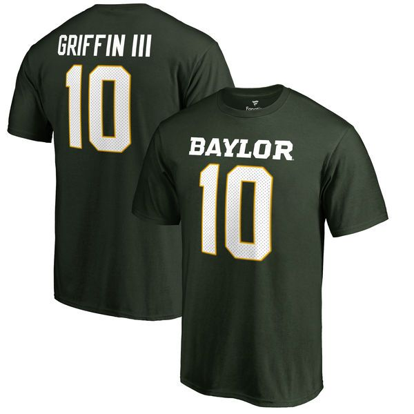 Robert Griffin III Baylor Bears Fanatics Branded Big & Tall College Legends T-Shirt - Green - $37.99
