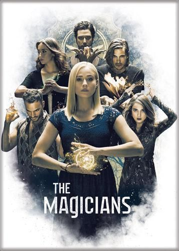 Magnet: The Magicians - Cast on White | The Magicians in