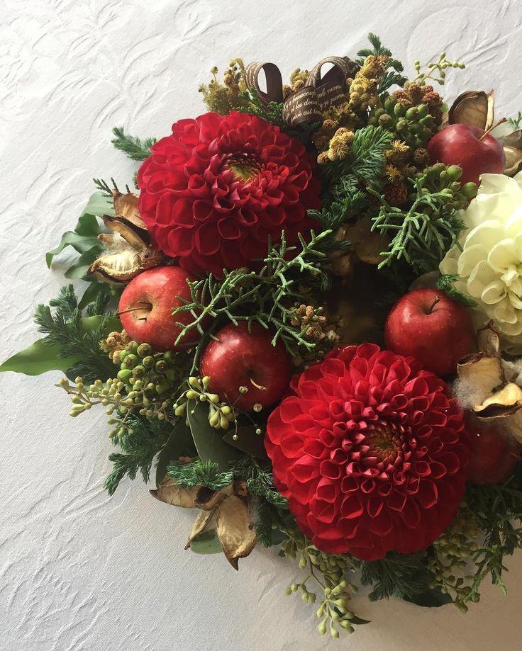 いいね!67件、コメント1件 ― @flower.nicoのInstagramアカウント: 「#12月の花遊び #撮影 #本日も快晴 #ルネッサンスリゾート沖縄 #フォーシーズンレストラン #パスタ&スウィーツ&卓上リース #12月23日24日25日  #クリスマス #美味しや #楽しや…」
