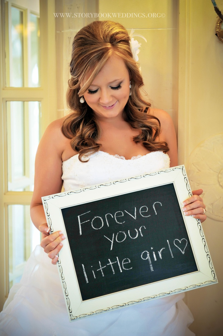 This would be a cute picture for any very formal occasion like cotillions, proms, graduations, etc    Cute pic idea for Father of the Bride!