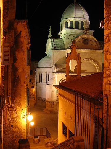 Sibenik by night, Croacia
