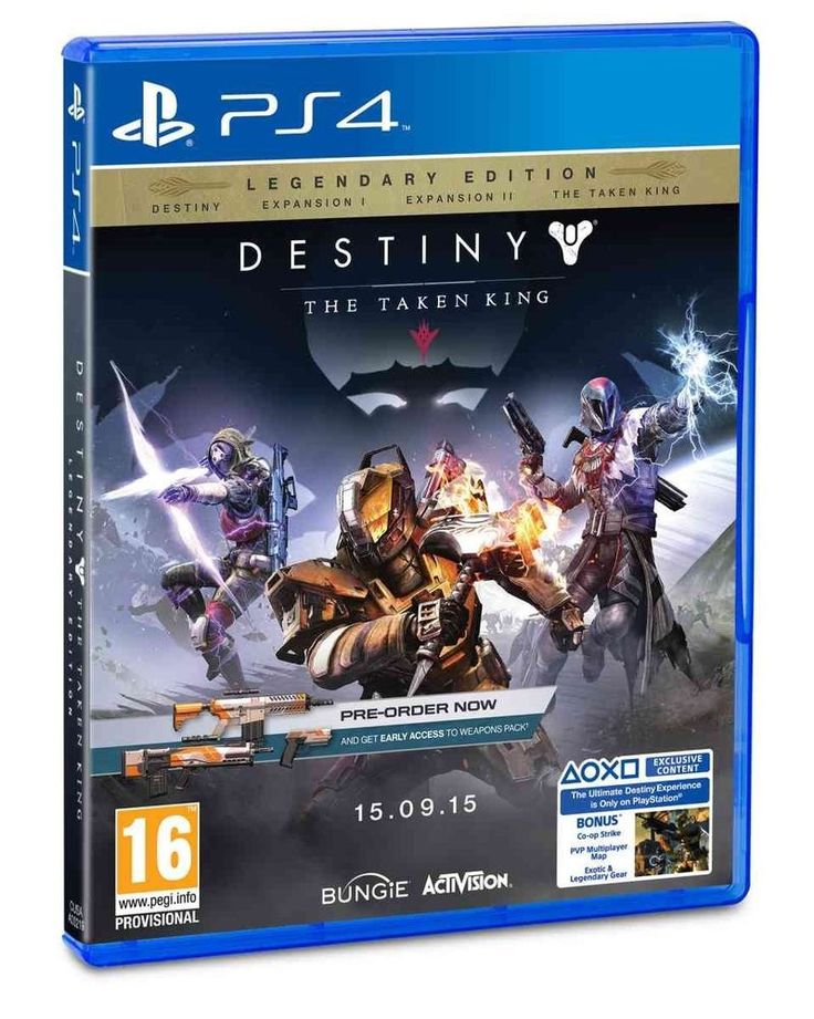Destiny: The Taken King - Legendary Edition D1 (PlayStation 4) - Bungie Software