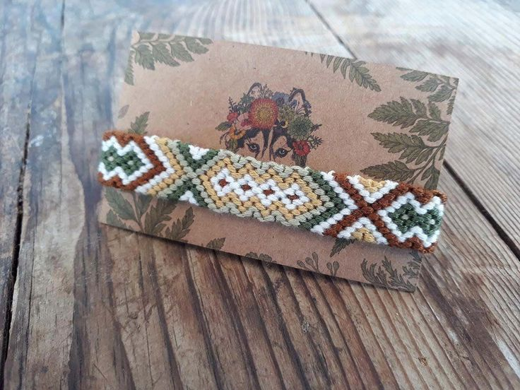 Woven cotton friendship bracelet, Boho braided anklet, Tribal bracelet, Beach anklet, Jewelry, Hippie Bracelets #bohobraids