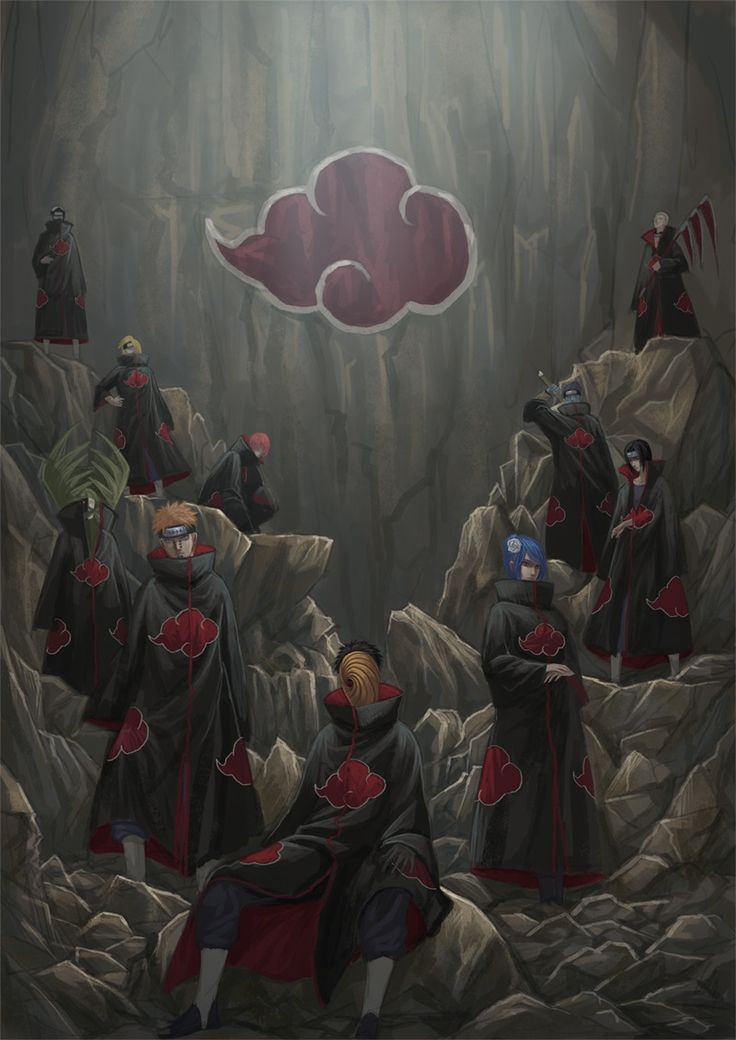 Akatsuki was the highlight of the Naruto series. Don't deny it.