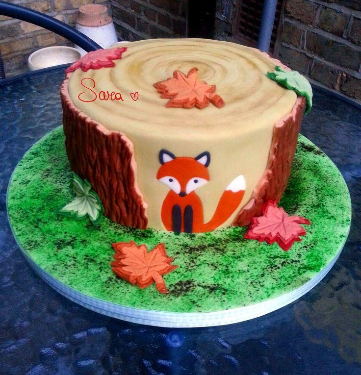 #fox #cake
