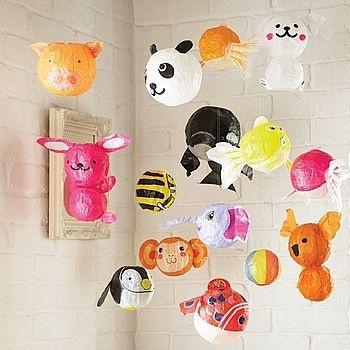 Japanese paper balloons <3