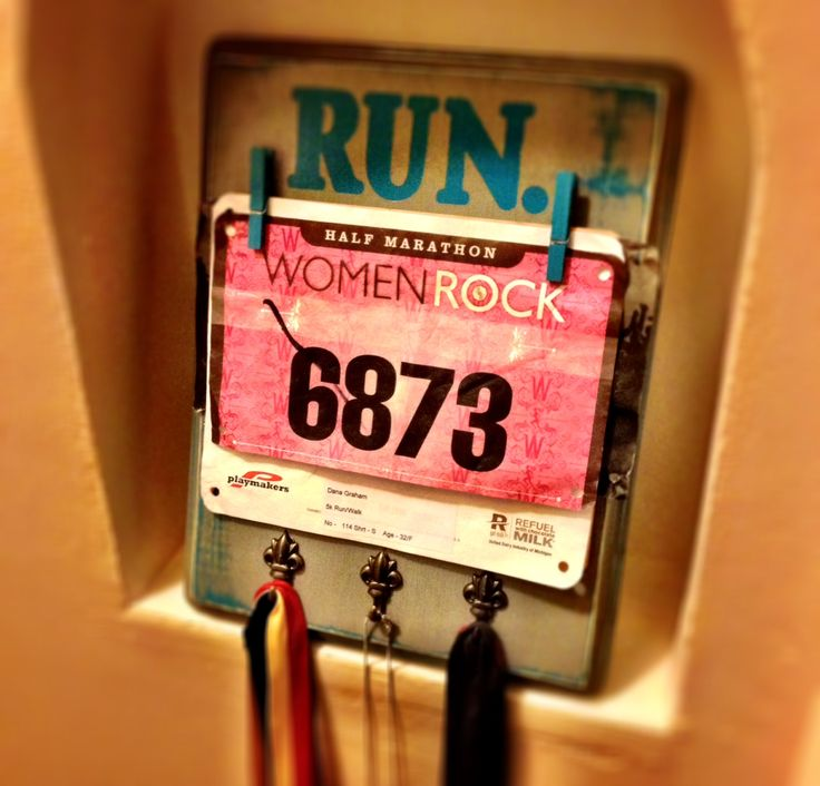 How do you know someone is training for a marathon? Just wait a bit – they'll tell you. (Thanks, Liz.) OK, technically I only ran a half marathon, but I was very proud and wanted a wa…