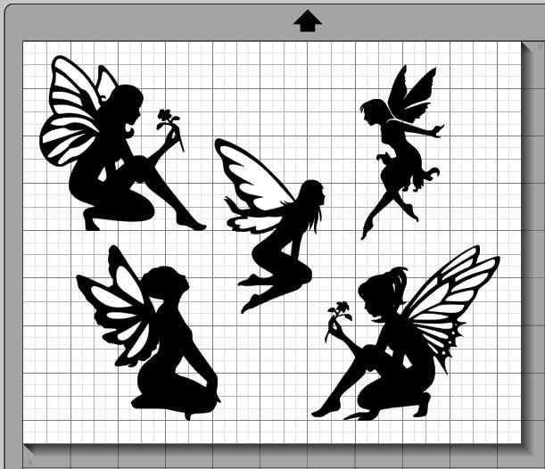 Fee Silhouetten SVG Dxf Eps Pdf Png Svg studio3