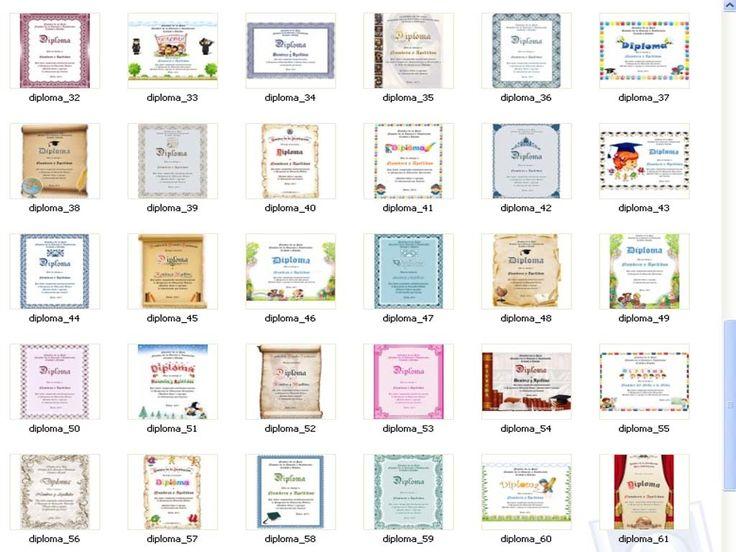 125 Plantillas Editables Para Diplomas Y Certificados En