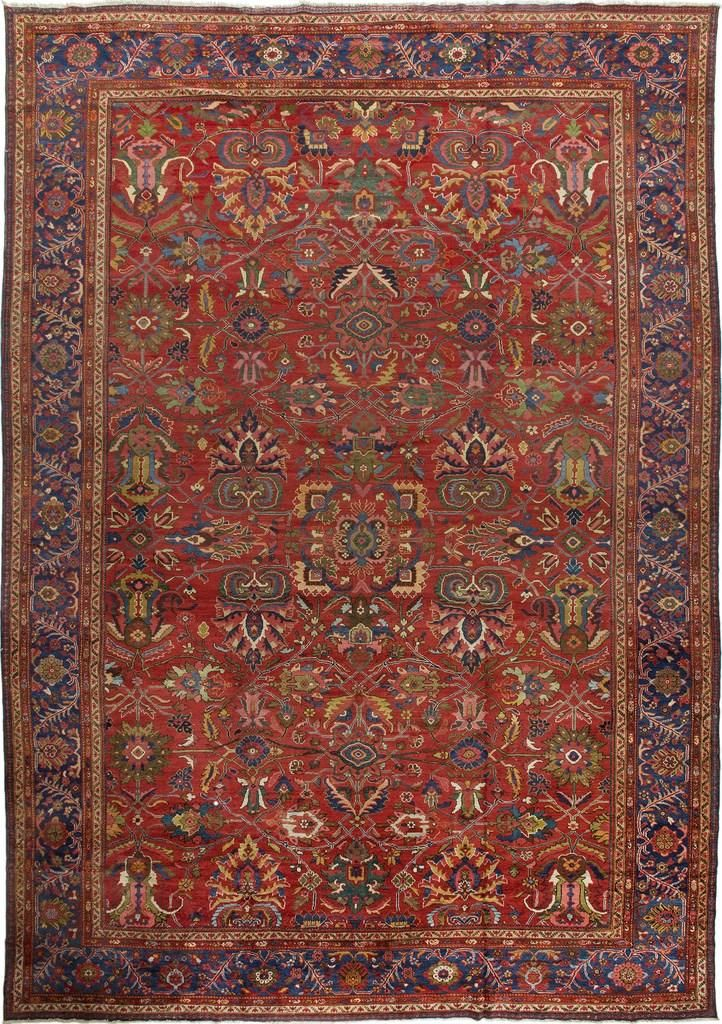 Rug Ant174906 Sultanabad Antique Area Rugs By Safavieh Rugs Area Rugs Antiques