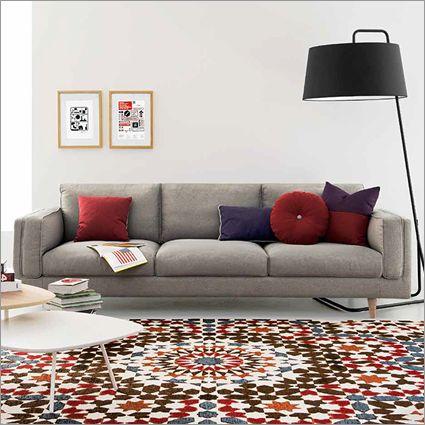 Metro Sofa Marocco Rug Tweet Coffee Table Sextans Floor Lamp