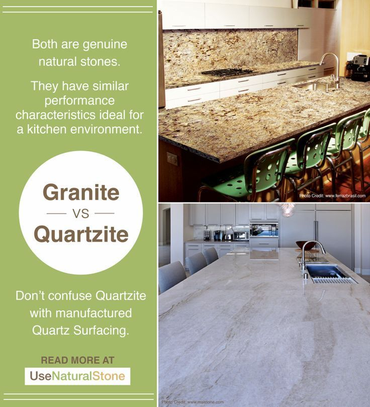 Granite And Quartzite Have Very Similar Performance Statistics Is Generally Harder Denser The Pattern More Like Marble Which