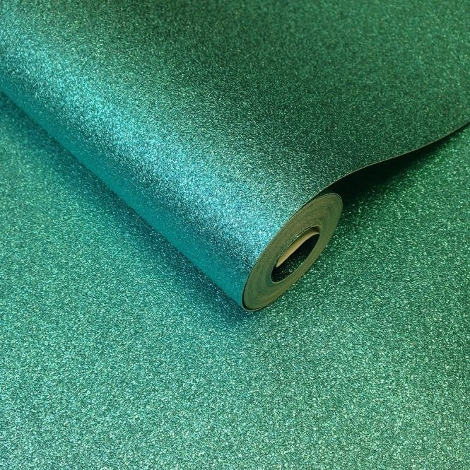 Muriva Hot Teal Glitter Wallpaper