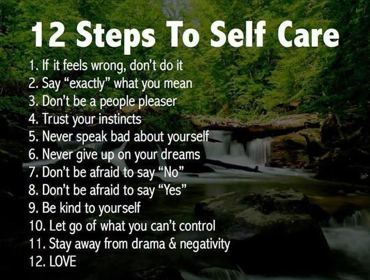 12-Steps-to-self-care  Heal from Narcissitic Abuse