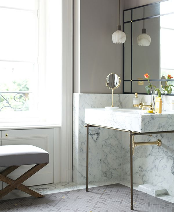 Beautiful Bathrooms Nyc: 17 Best Images About Beautiful Powder Rooms On Pinterest