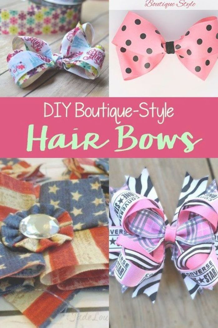 Pin On Hair Bows