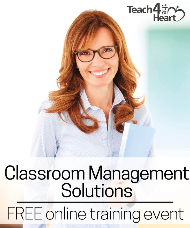 Having trouble with a difficult class? Discover the secrets to great classroom management & learn a simple 5-step plan to regain control of your class. Awesome free training event for teachers.