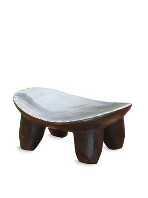 The African Side Table by John Dickinson    | 1stdibs | Sculptural