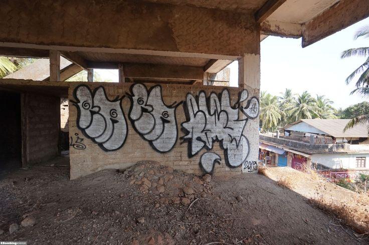 Raes / Yogyakarta / Walls Graffiti. Feast your eyes with graffiti arts from Bombing Science!