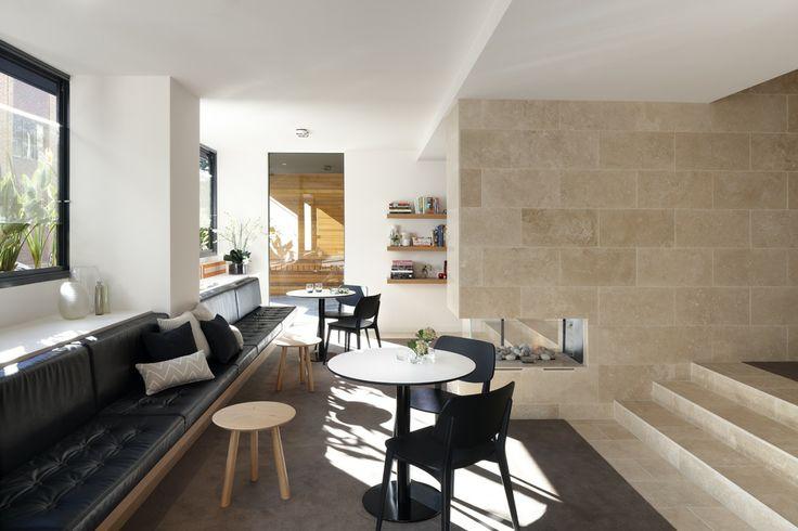 The Claremont - Foyer.  Bird de la Coeur Architects Interiors Hassell Photo Dianna Snape