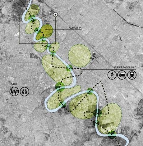 AV62 Arquitectos | Planificación Urbana | Proyecto para revitalizar y desarrollar el Distrito de Adhamiya en Bagdad, Irak