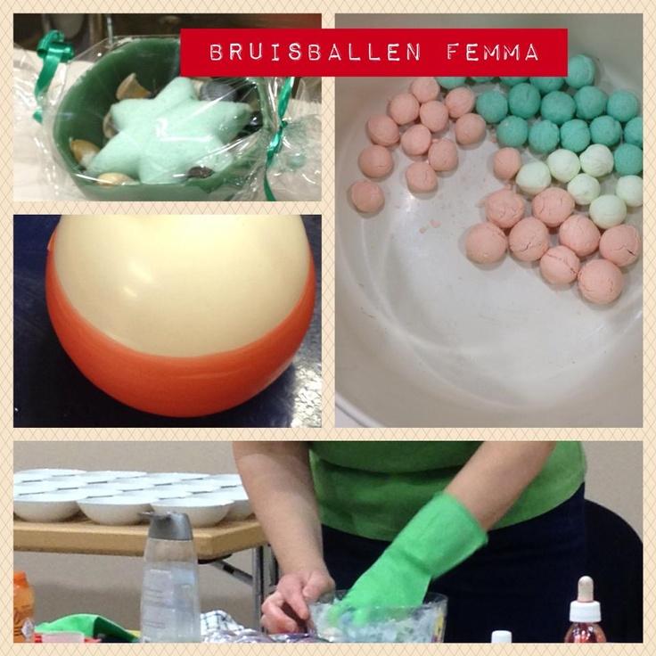 Zelf cadeautjes maken: bruisballen, een zeepketting